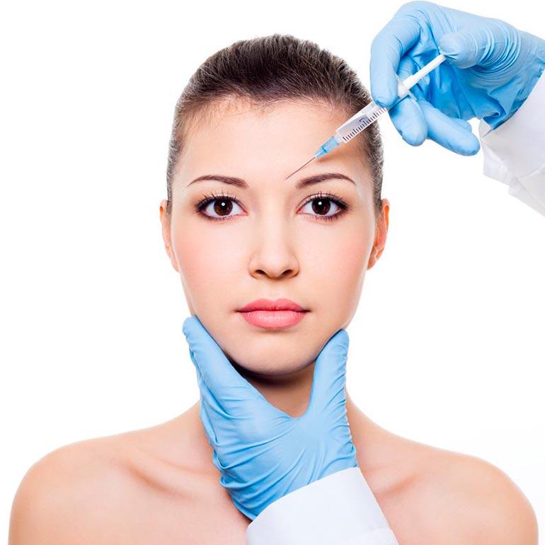 Rejuvenecimiento facial con botox
