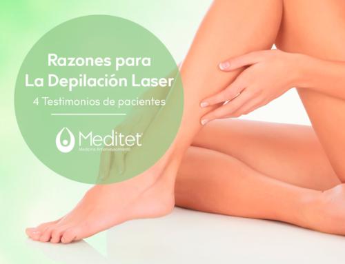 4 Testimonios de nuestros pacientes luego de realizarse la depilación láser en Meditet.