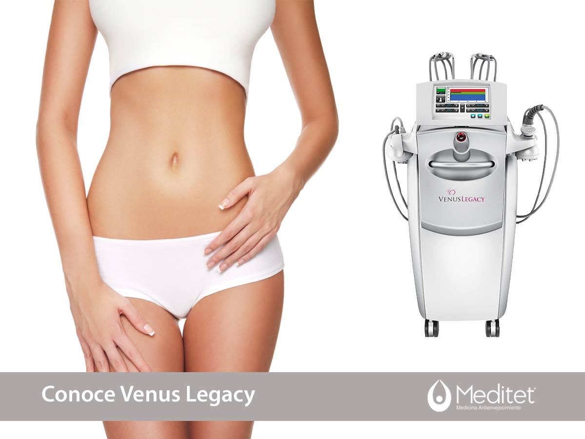 Venus Legacy para remodelación corporal