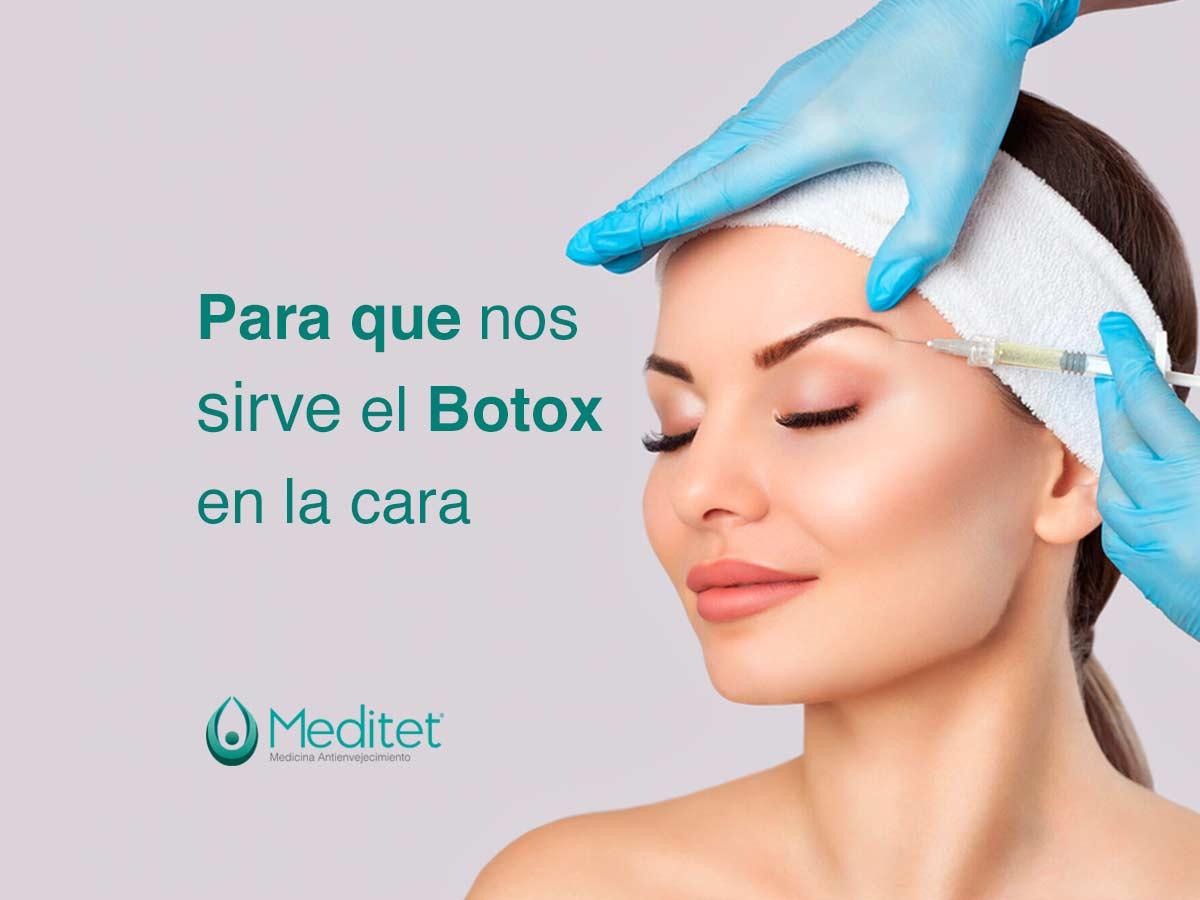 botox en la cara