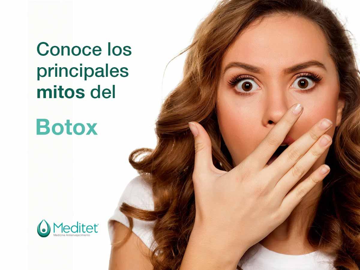 prinicipales mitos del botox